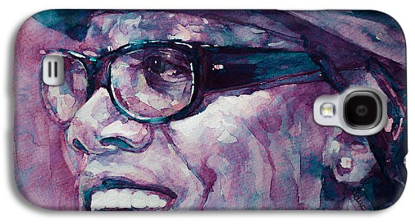 Clarence Paintings Galaxy S4 Cases - Working on a Dream  Galaxy S4 Case by Laur Iduc