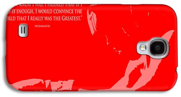 Olympic Gold Medalist Galaxy S4 Cases -  I am The Greatest 1 Galaxy S4 Case by Brian Reaves