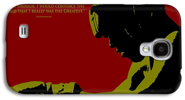 Olympic Gold Medalist Galaxy S4 Cases -  I am The Greatest 2 Galaxy S4 Case by Brian Reaves
