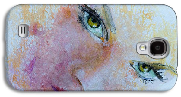 Figures Mixed Media Galaxy S4 Cases -  I Only Have Eyes For You  Galaxy S4 Case by Dorina  Costras