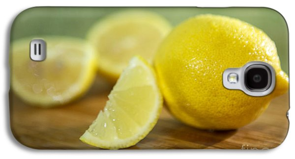 Lemon Citrus Limon Zitronen Galaxy S4 Case by Iris Richardson
