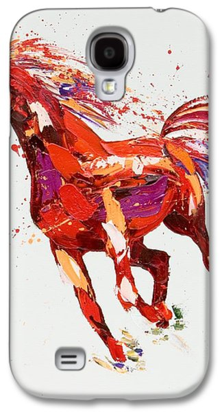 Abstract Movement Galaxy S4 Cases -  LEspirit Galaxy S4 Case by Penny Warden