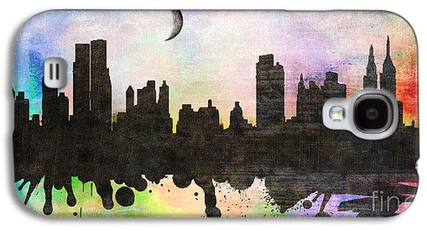 Animation Galaxy S4 Cases -  New York 6 Galaxy S4 Case by Mark Ashkenazi
