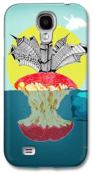 Animation Galaxy S4 Cases -   New York  Galaxy S4 Case by Mark Ashkenazi