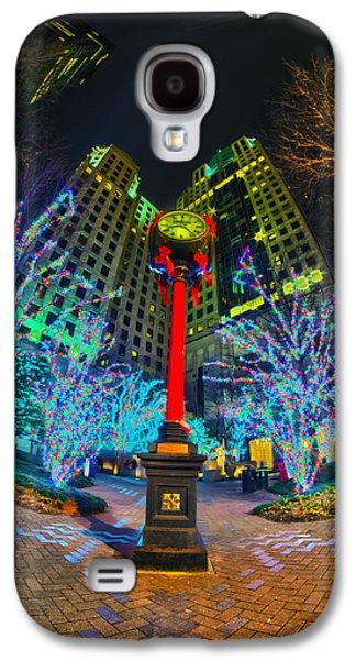 Nightlife Around Charlotte During Christmas Galaxy S4 Case by Alexandr Grichenko