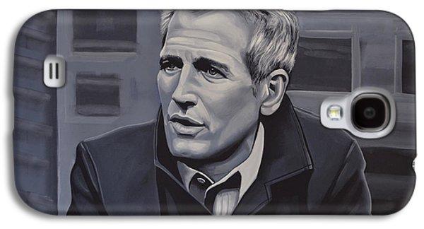 Paul Newman Galaxy S4 Case by Paul Meijering