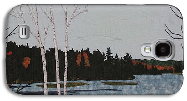 Autumn Landscape Tapestries - Textiles Galaxy S4 Cases -  Peace  Galaxy S4 Case by Anita Jacques