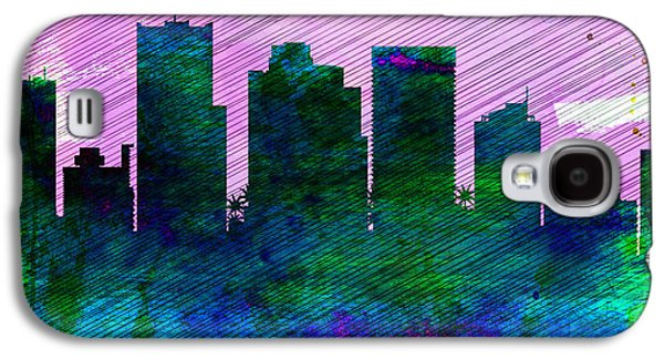 Phoenix City Skyline Galaxy S4 Case by Naxart Studio