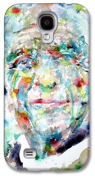 Pablo Galaxy S4 Cases -  PICASSO - watercolor portrait Galaxy S4 Case by Fabrizio Cassetta