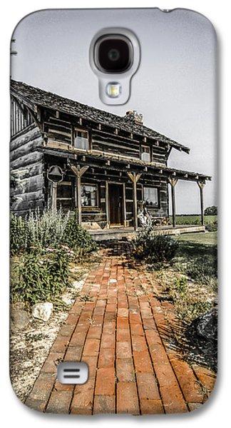 Buildin Galaxy S4 Cases -  Pioneer farmhouse Galaxy S4 Case by Chris Smith