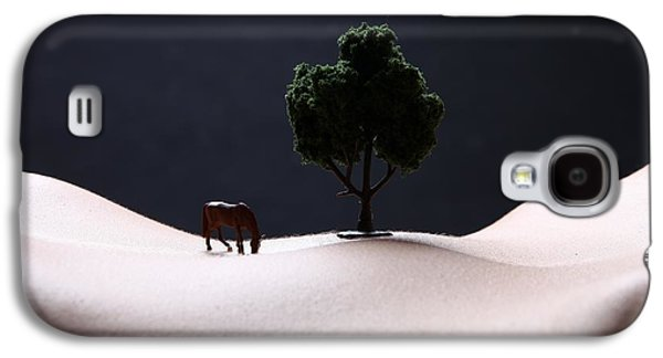 Nudes Pyrography Galaxy S4 Cases -  Plains of Bodyscape Ville Galaxy S4 Case by Katrina Brown