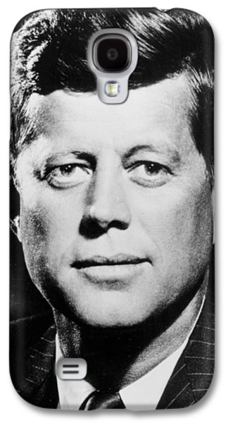 60s Photographs Galaxy S4 Cases -  Portrait of John F. Kennedy  Galaxy S4 Case by American Photographer