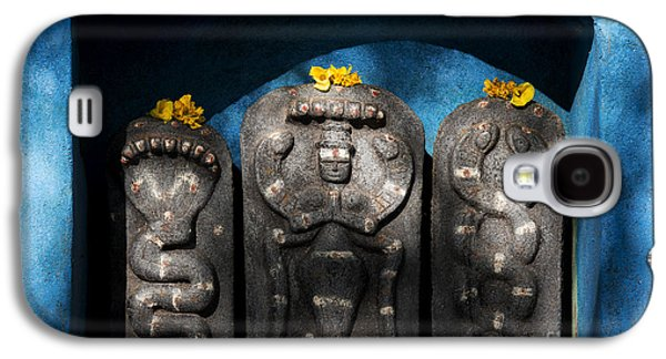 Rural Indian Hindu Shrine  Galaxy S4 Case by Tim Gainey
