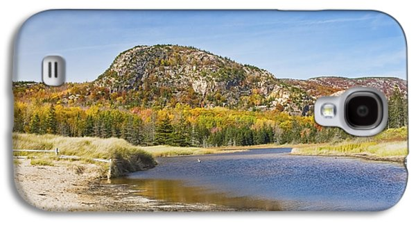 Maine Beach Galaxy S4 Cases -  Sand Beach - Beehive - Acadia National Park - Fall - Maine Galaxy S4 Case by Keith Webber Jr
