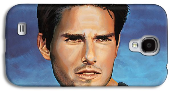 Thunder Paintings Galaxy S4 Cases -  Tom Cruise Galaxy S4 Case by Paul  Meijering