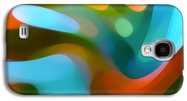 Abstract Forms Galaxy S4 Cases -  Tree Light 1 Galaxy S4 Case by Amy Vangsgard