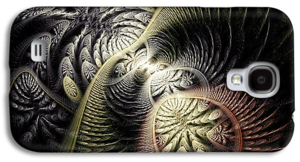 Ancient Galaxy S4 Cases -  Trilobite Trail Galaxy S4 Case by Anastasiya Malakhova