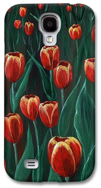 Mother Galaxy S4 Cases -  Tulip Festival Galaxy S4 Case by Anastasiya Malakhova
