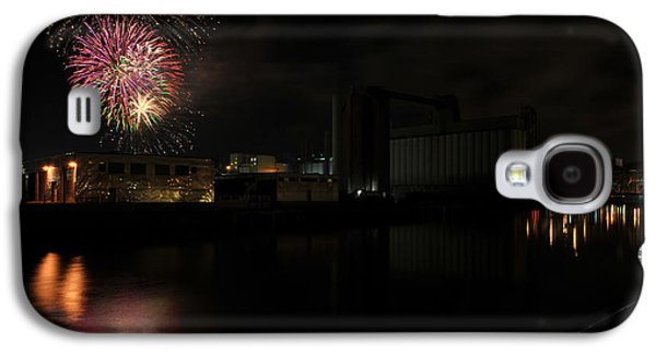 4th July Galaxy S4 Cases - 0021 ...The Bombs Bursting in Air...4JUL13 SERIES Galaxy S4 Case by Michael Frank Jr