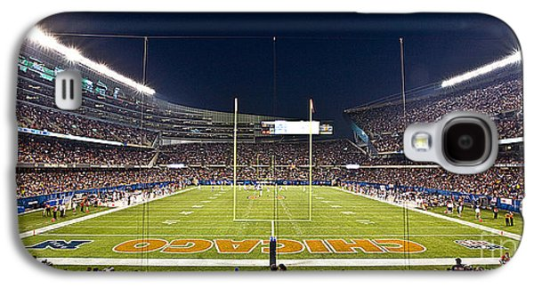 Soldier Field Galaxy S4 Cases - 0587 Soldier Field Chicago Galaxy S4 Case by Steve Sturgill
