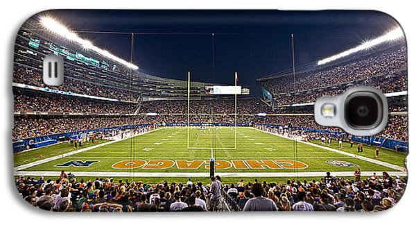 Soldier Field Galaxy S4 Cases - 0588 Soldier Field Chicago Galaxy S4 Case by Steve Sturgill