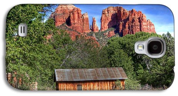 0682 Red Rock Crossing - Sedona Arizona Galaxy S4 Case by Steve Sturgill