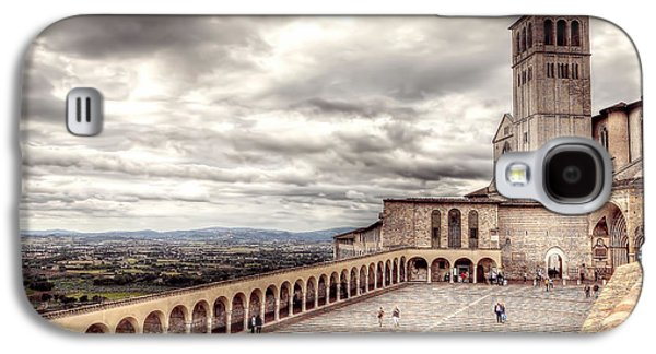 Ancient Galaxy S4 Cases - 0800 Assisi Italy Galaxy S4 Case by Steve Sturgill