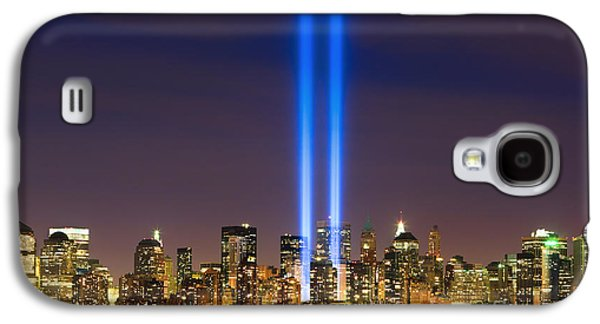 Wtc 11 Galaxy S4 Cases - 09/11 - Tribute in Light Galaxy S4 Case by Henk Meijer Photography