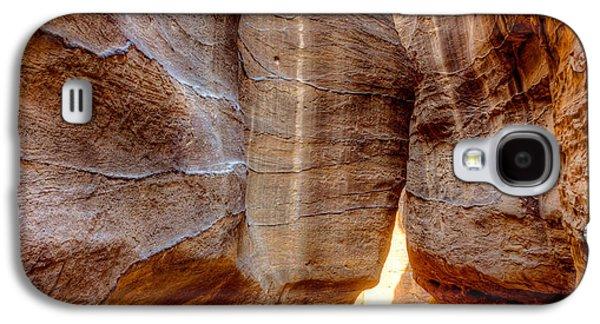 Nabatean Galaxy S4 Cases -  Al Siq Galaxy S4 Case by Alexey Stiop