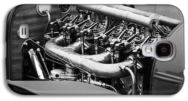 Elegance Photographs Galaxy S4 Cases - 1910 Benz 22-80 Prinz Heinrich Renn Wagen Engine Galaxy S4 Case by Jill Reger