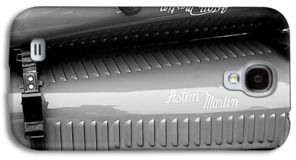 Transportation Photographs Galaxy S4 Cases - 1935 Aston Martin Ulster Race Car Hood Galaxy S4 Case by Jill Reger