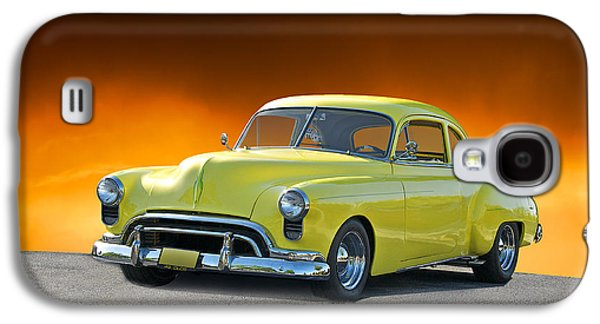 Slam Galaxy S4 Cases - 1949 Oldsmobile Coupe Galaxy S4 Case by Dave Koontz