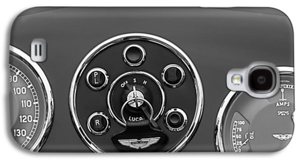 Panel Galaxy S4 Cases - 1953 Aston Martin DB2-4 Bertone Roadster Instrument Panel Galaxy S4 Case by Jill Reger