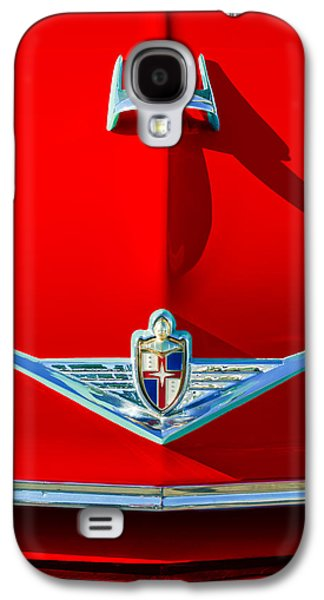 Transportation Photographs Galaxy S4 Cases - 1954 Lincoln Capri Hood Ornament Galaxy S4 Case by Jill Reger