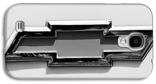 Transportation Photographs Galaxy S4 Cases - 1955 Chevrolet Cameo Pickup Truck Emblem Galaxy S4 Case by Jill Reger