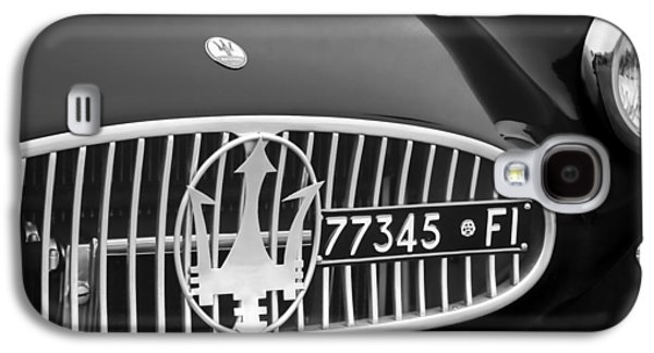1955 Maserati A6gcs Roadster Grille Emblem Galaxy S4 Case by Jill Reger