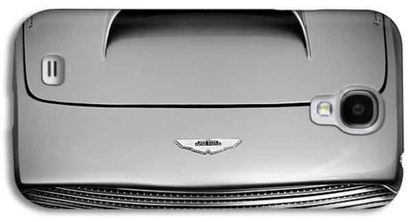 Transportation Photographs Galaxy S4 Cases - 1956 Aston Martin DB 2/4 MK I Hood Emblem Galaxy S4 Case by Jill Reger