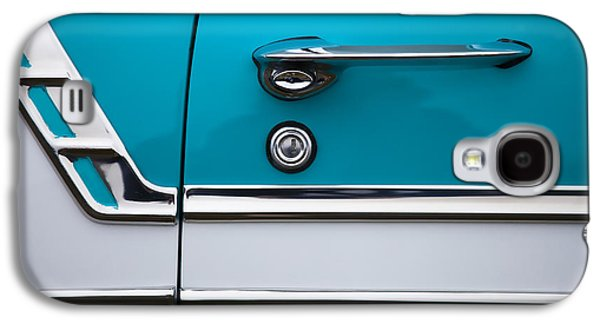 50s Photographs Galaxy S4 Cases - 1956 Chevrolet Bel Air Galaxy S4 Case by Carol Leigh