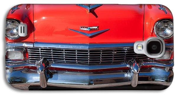 Transportation Photographs Galaxy S4 Cases - 1956 Chevrolet Belair Convertible Custom V8 Galaxy S4 Case by Jill Reger
