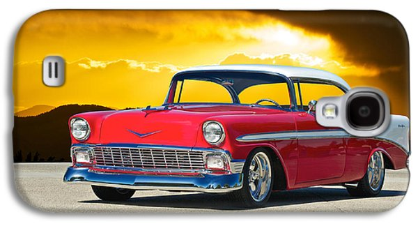 Slam Galaxy S4 Cases - 1956 Chevy Bel Air Galaxy S4 Case by Dave Koontz