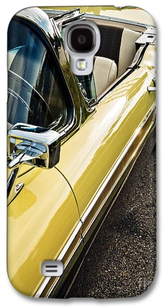 Auto Photographs Galaxy S4 Cases - 1957 Ford Fairlane 500 Skyliner Retractable Hardtop Convertible Galaxy S4 Case by Edward Fielding