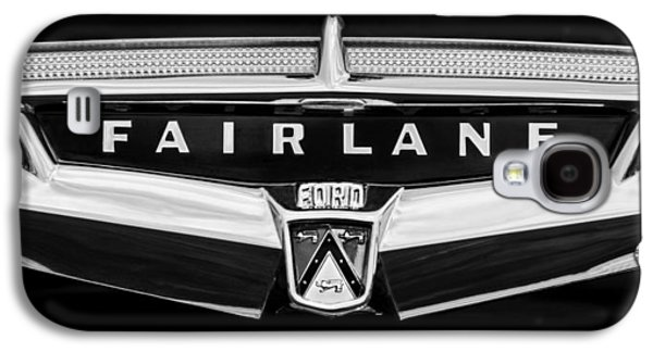Transportation Photographs Galaxy S4 Cases - 1957 Ford Fairlane Convertible Emblem Galaxy S4 Case by Jill Reger