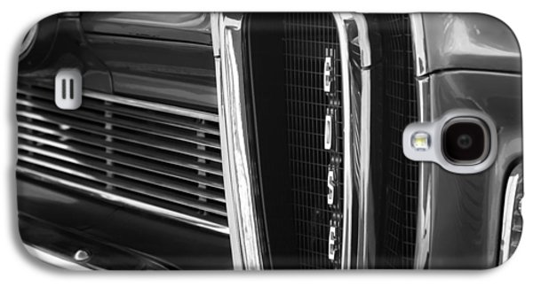 Pacers Galaxy S4 Cases - 1958 Edsel Pacer Grille Galaxy S4 Case by Jill Reger