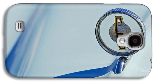 Car Abstract Photographs Galaxy S4 Cases - 1958 Edsel Ranger Hood Ornament Galaxy S4 Case by Jill Reger