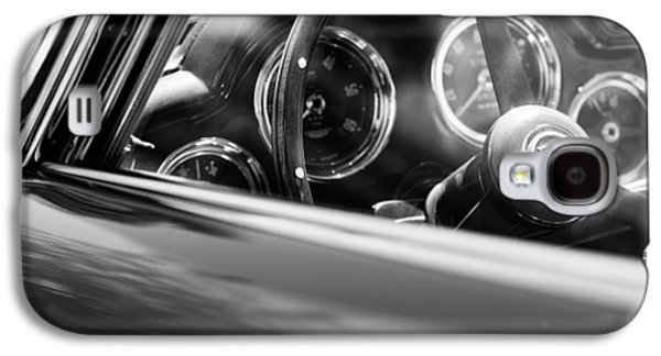1960 Photographs Galaxy S4 Cases - 1960 Aston Martin DB4 Series II Steering Wheel Galaxy S4 Case by Jill Reger
