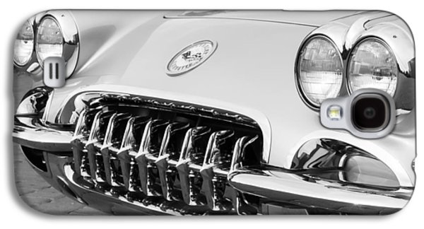 1960 Photographs Galaxy S4 Cases - 1960 Chevrolet Corvette Grille Galaxy S4 Case by Jill Reger