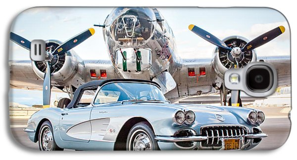 1960 Galaxy S4 Cases - 1960 Chevrolet Corvette Galaxy S4 Case by Jill Reger