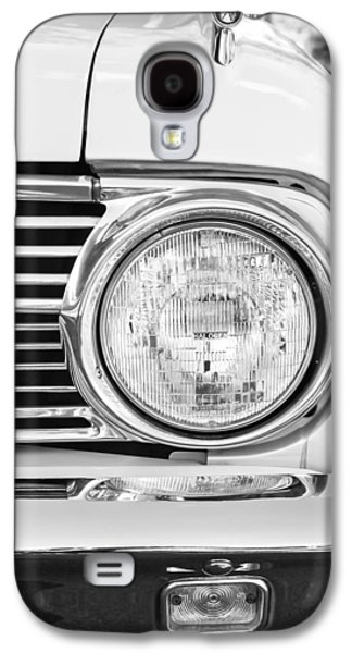 1963 Ford Galaxy S4 Cases - 1963 Ford Falcon Futura Convertible Headlight - Hood Ornament Galaxy S4 Case by Jill Reger