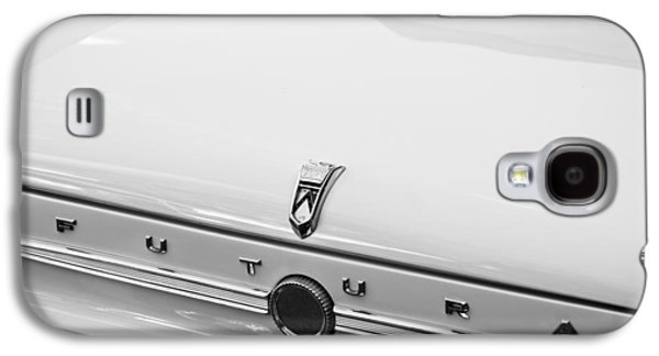 1963 Ford Galaxy S4 Cases - 1963 Ford Falcon Futura Convertible  Rear Emblem Galaxy S4 Case by Jill Reger
