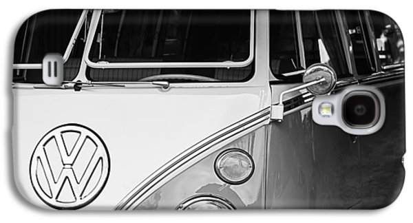 Transportation Photographs Galaxy S4 Cases - 1964 Volkswagen VW Samba 21 Window Bus Galaxy S4 Case by Jill Reger
